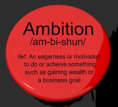 Definition of ambition essay